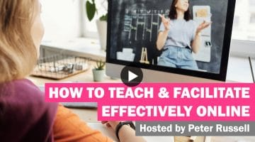WATCH: How to teach and facilitate effectively online 31