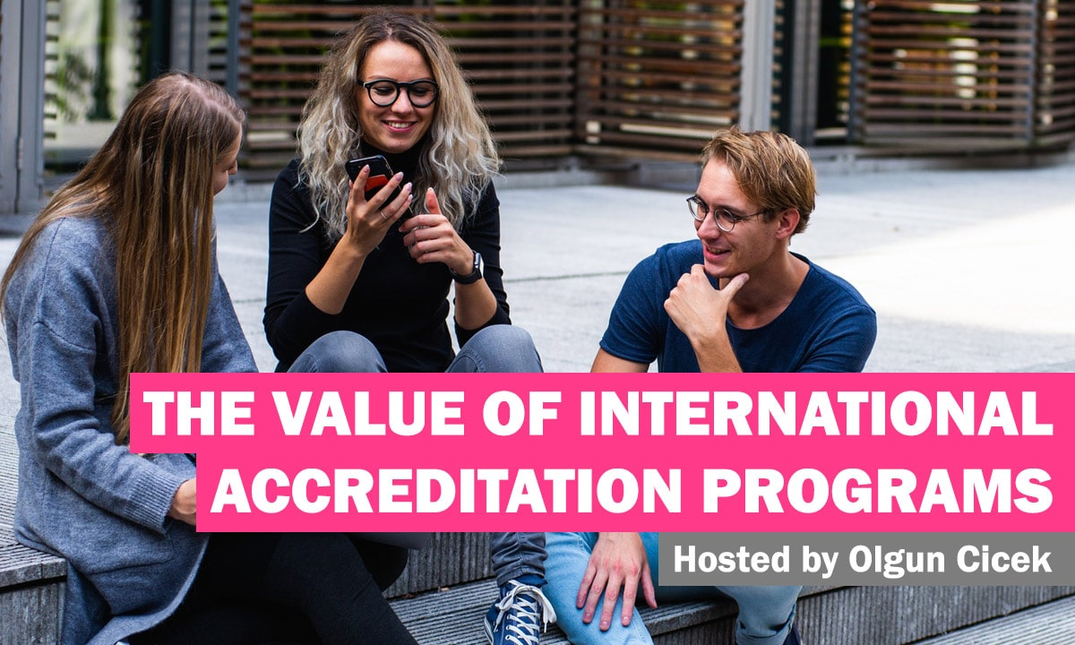 LIVE Webinar: The Value of International Accreditation Programs 33