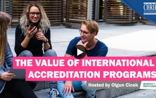 WATCH: The Value of International Accreditation Programs 31
