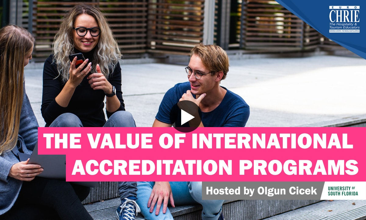 WATCH: The Value of International Accreditation Programs 21