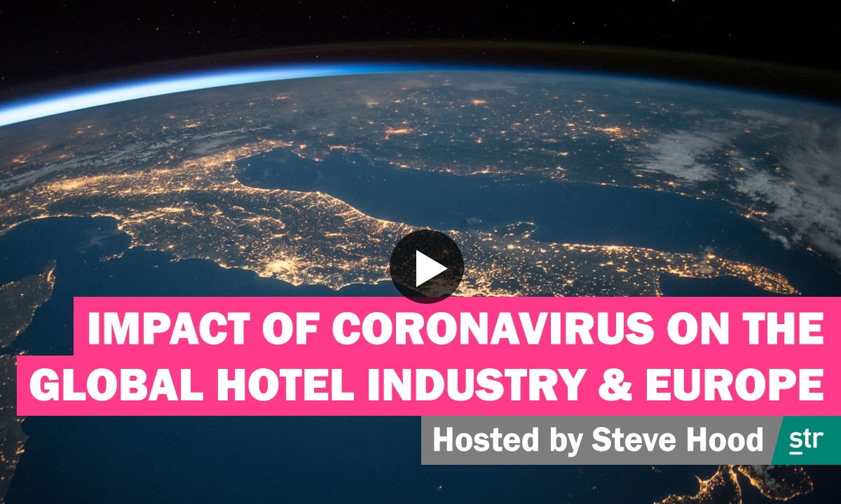 WATCH - Impact of Coronavirus on the Global Hotel Industry and Europe 23
