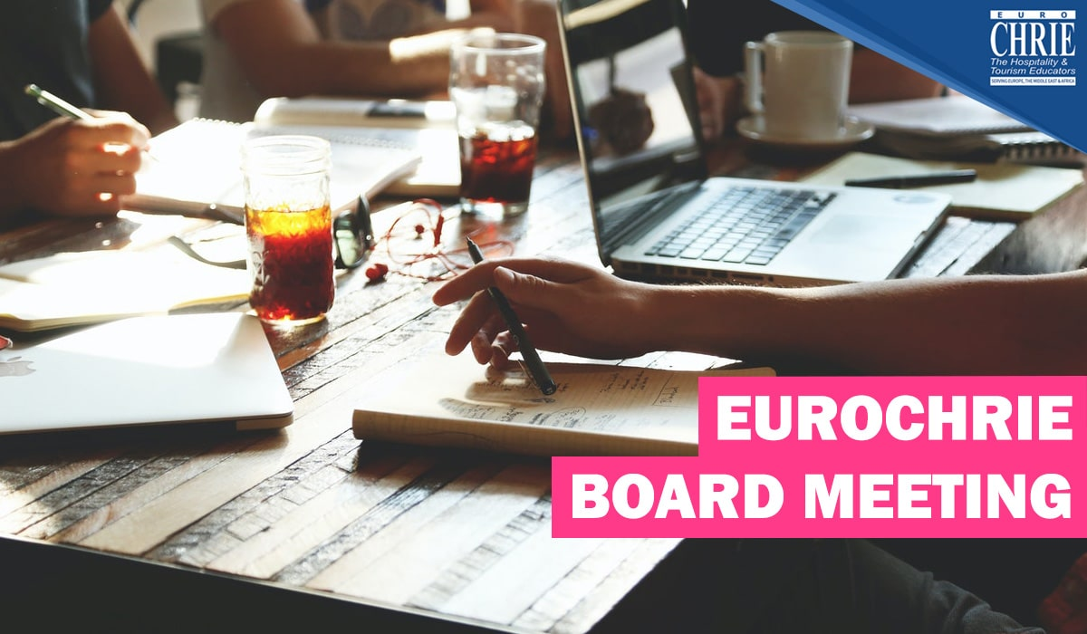 EuroCHRIE Board meeting (invite only) 9