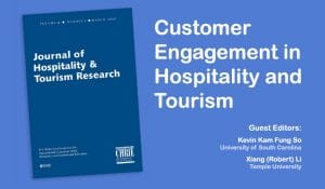 Journal of Hospitality & Tourism Research - Special Issue 17