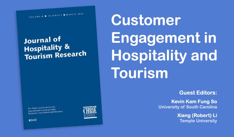 Journal of Hospitality & Tourism Research - Special Issue 22