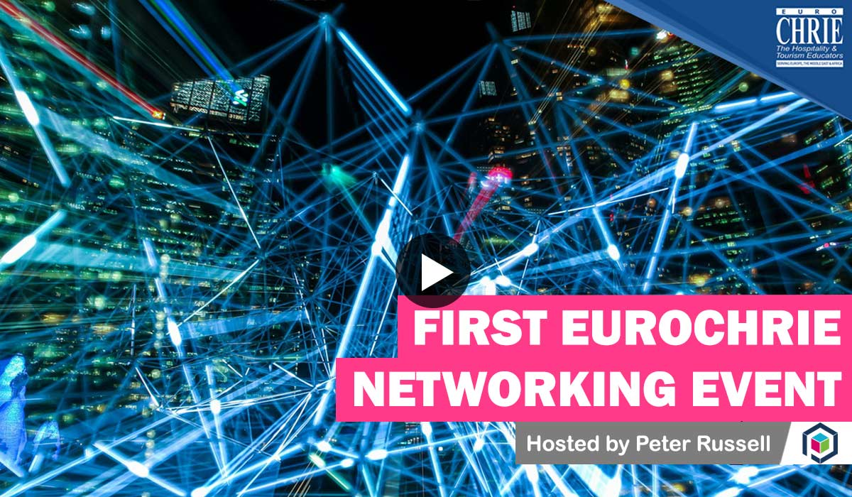 WATCH: The FIRST EuroCHRIE Online Networking Event 18