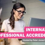 Peter Jones MBE presents: International Professional Accreditation 41