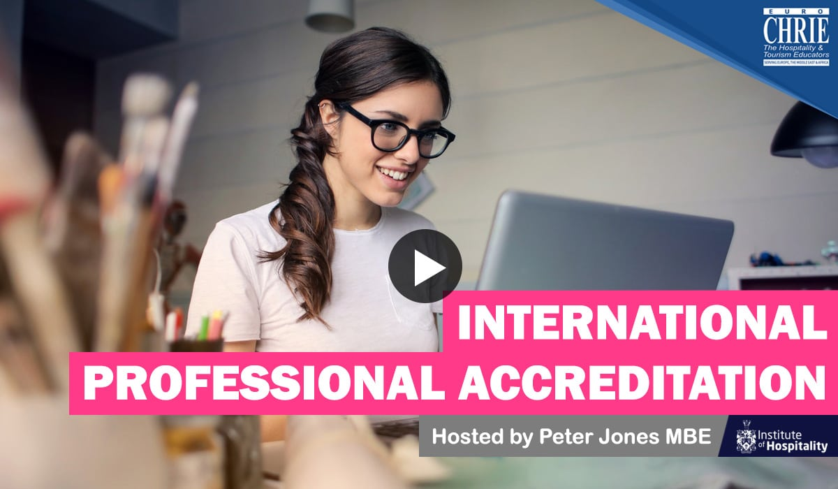 WATCH: Peter Jones discusses 'International Professional Accreditation' 20