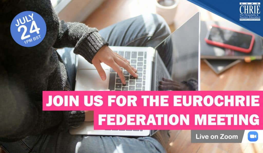 Why not join us for the EuroCHRIE Federation Meeting? 20
