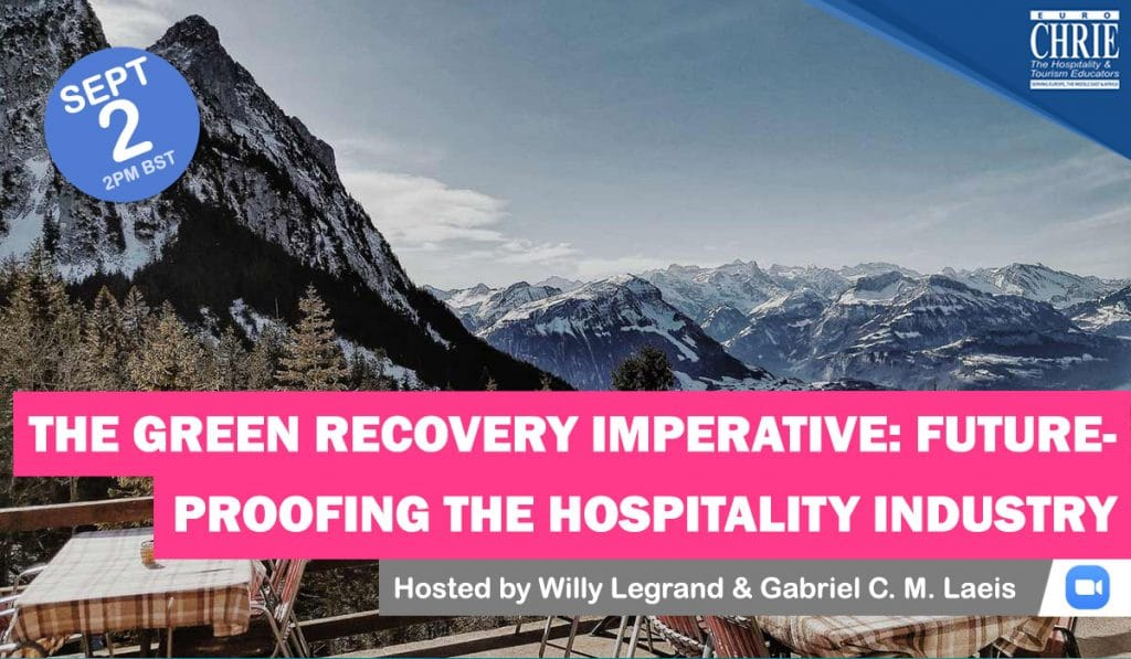 REGISTER: The Green Recovery Imperative: Future-Proofing the Hospitality Industry 54