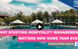 WATCH: Why Studying Hospitality Management Matters Now More than Ever 41