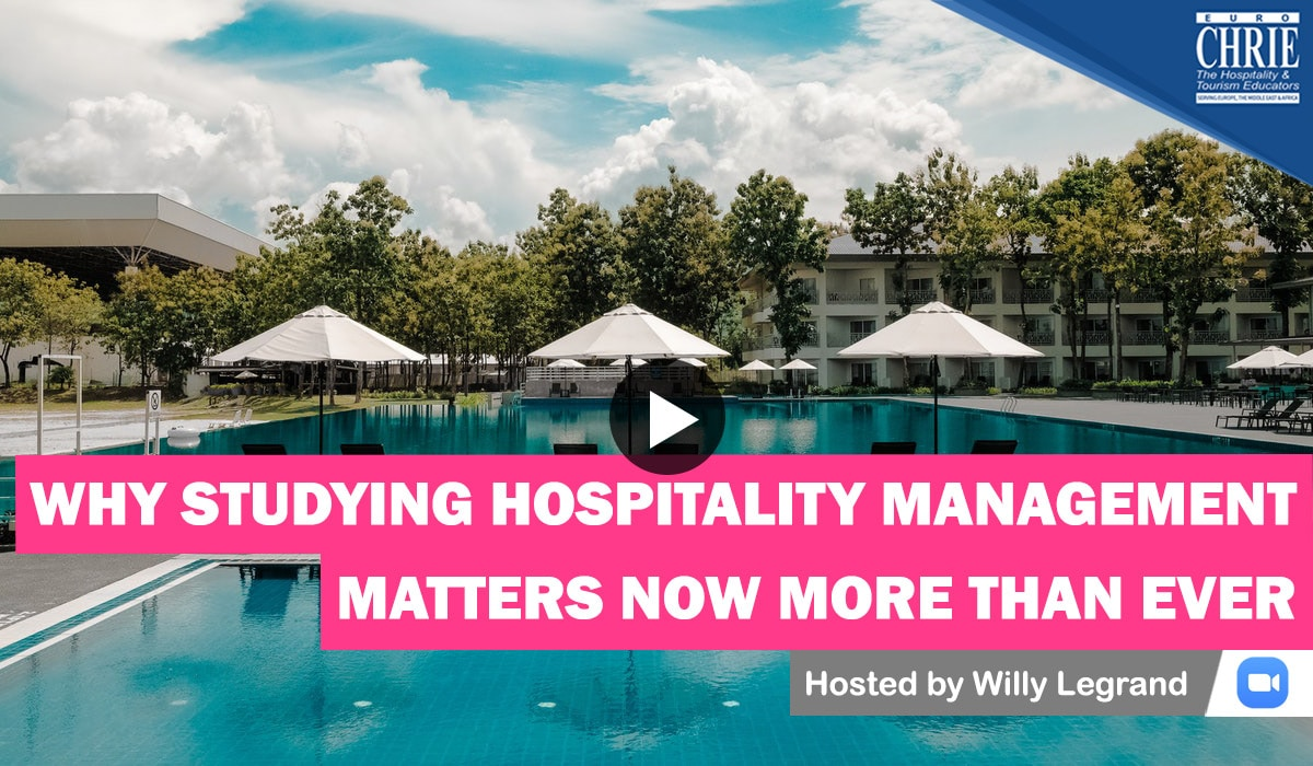 WATCH: Why Studying Hospitality Management Matters Now More than Ever 43