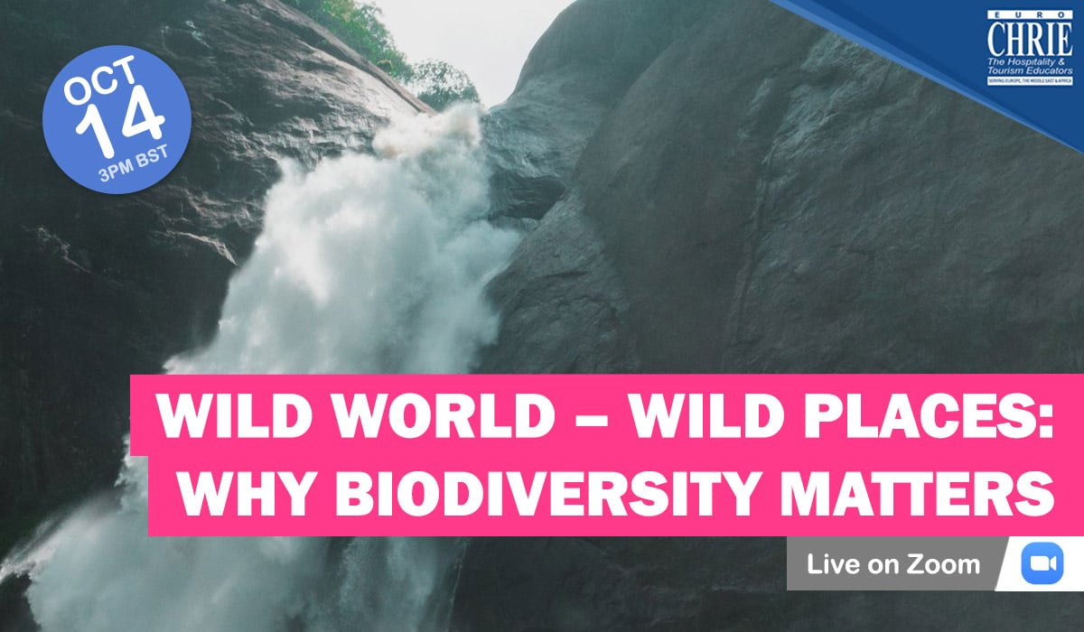REGISTER: Wild World – Wild Places: Why biodiversity matters for tourism & hospitality sectors 43