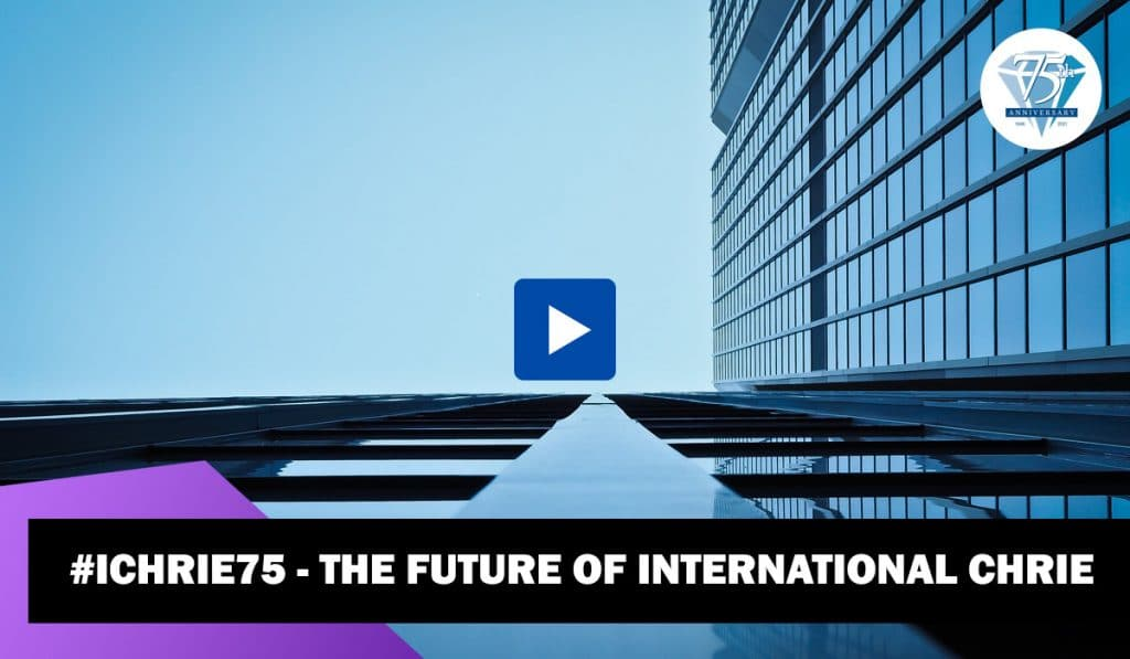 WATCH: #ICHRIE75: ICHRIE President Joy Dickerson discusses the future 44