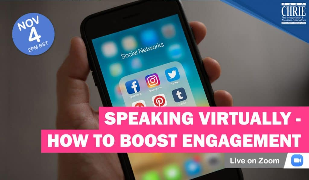 REGISTER: Speaking Virtually - How to Boost Engagement 41
