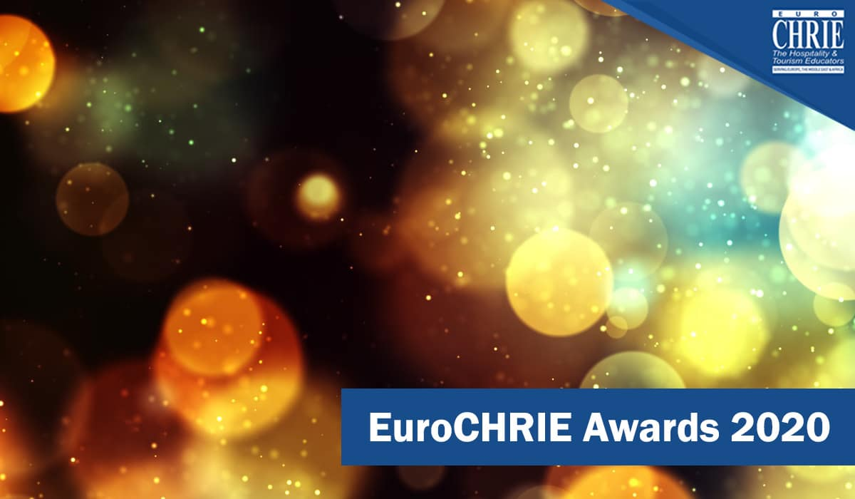 The EuroCHRIE 2020 Award Winners have been announced 33