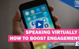 WATCH: Speaking Virtually - How to Boost Engagement 31