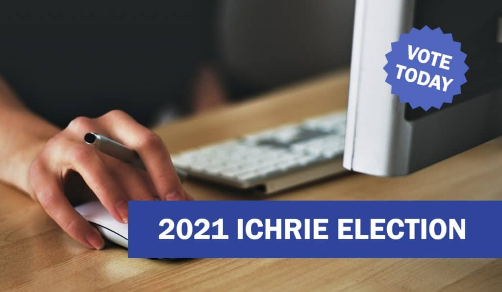 Cast Your Ballot in the 2021 ICHRIE Election - Deadline 30 December 36