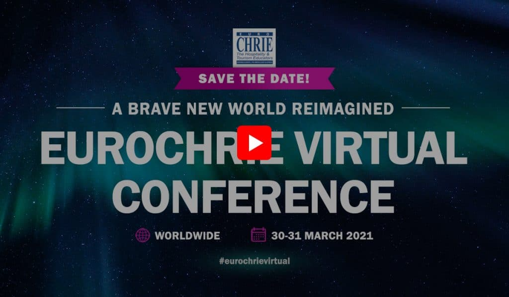 Announcing the #EuroCHRIEVirtual Conference - REGISTER NOW! 36