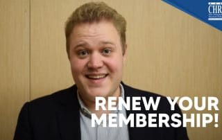 It's time to RENEW your Membership with EuroCHRIE for 2021 40