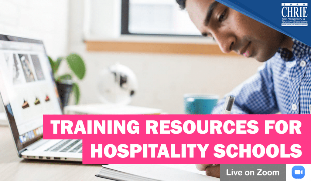 WATCH: Training Resources for Hospitality Schools & How to integrate them into the Curriculum 37