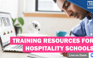 WATCH: Training Resources for Hospitality Schools & How to integrate them into the Curriculum 26