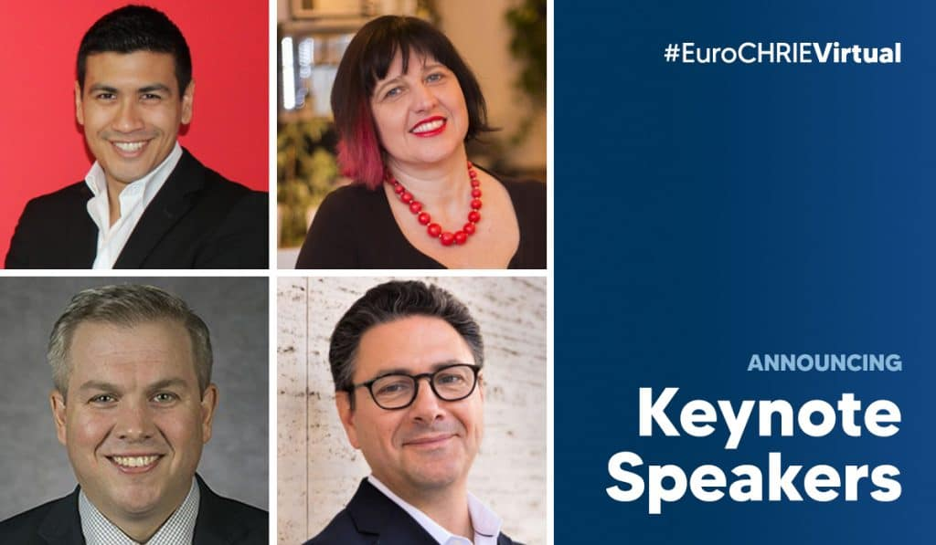 Announcing the EuroCHRIE Virtual Conference Keynote Speakers 36