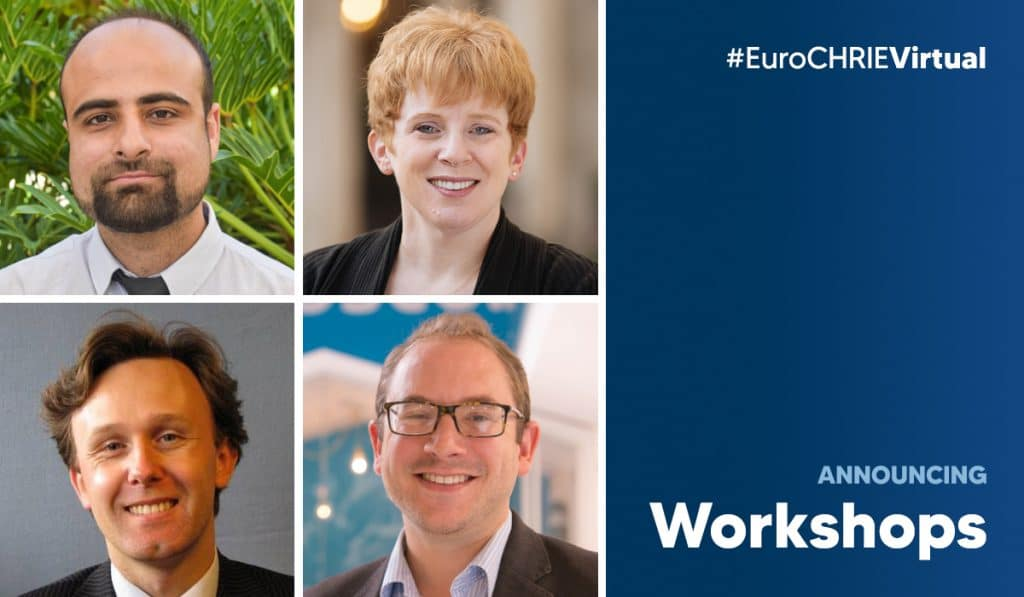 Announcing the EuroCHRIE Virtual Conference Workshops 34