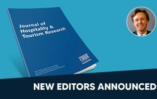 New Editors for Journal of Hospitality and Tourism Research (JTHR) 39