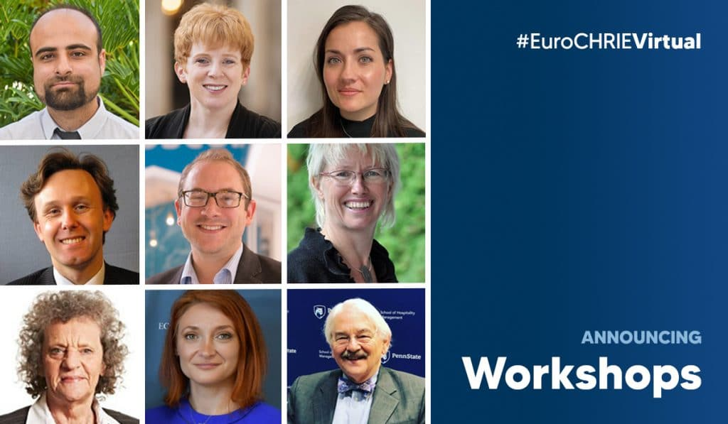 Announcing the EuroCHRIE Virtual Conference Workshops 38