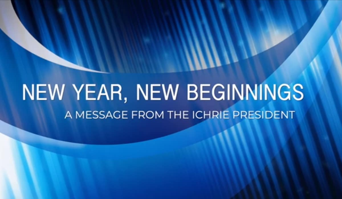 WATCH: New Year, New Beginnings with ICHRIE: A Message from the President 38