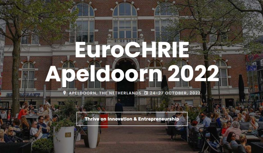 EuroCHRIE Apeldoorn 2022 - Call for Papers Coming Soon! 27