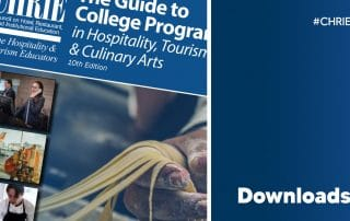 Download the 2021Guide to College Programs in Hospitality, Tourism & Culinary Arts 35