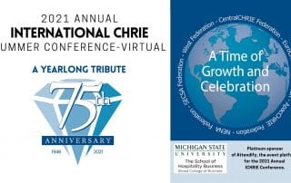 Annual ICHRIE Conference & Marketplace 2021 - Access the presentations! 28