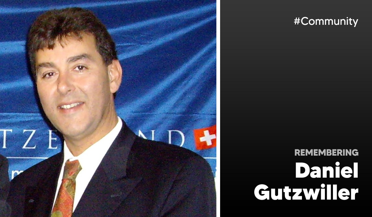 Long-time EuroCHRIE Supporter, Daniel Gutzwiller has passed away 26
